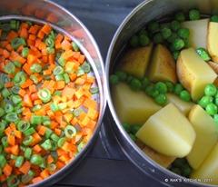 Vegetable cutlet prep1