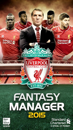 Liverpool FC Fantasy Manager15