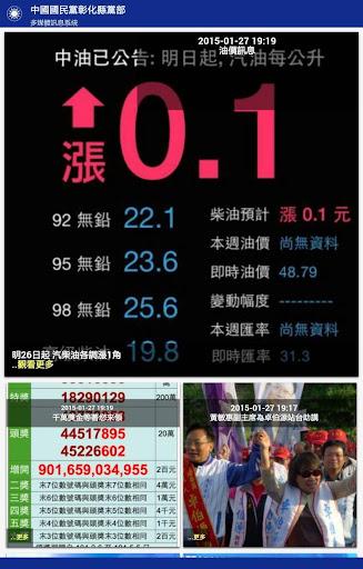中國國民黨彰化縣黨部多媒體訊息系統