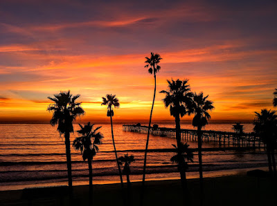 San Clemente Sunset Photos