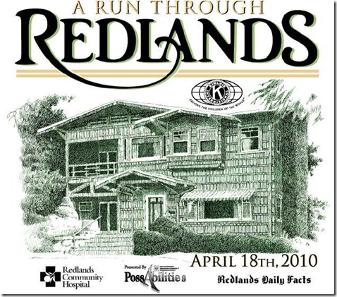 run through redlands