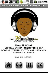 Wilder1Radio Internet Radio - screenshot thumbnail