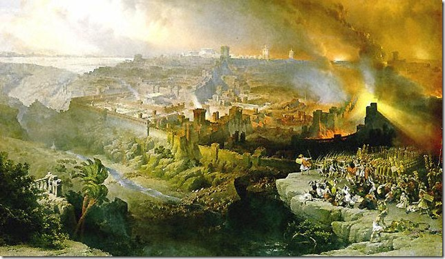 depiction of the destruction of Jerusalem