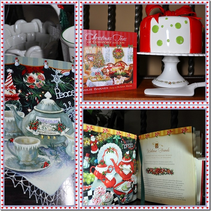 christmas teas collage