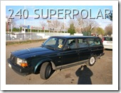 VOLVO 240 SUPER POLAR