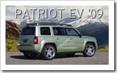 JEEP PATRIOT EV 2009