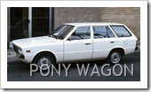HYUNDAI PONY STATION WAGON