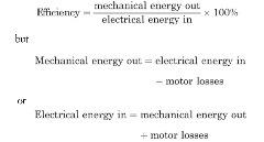 What Is Efficiency >> What Is Efficiency Electric Motor