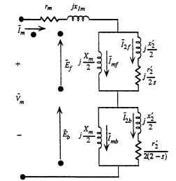 Single-Winding Motor Calculations from the Equivalent