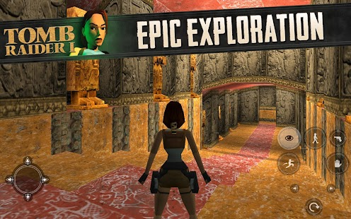 Tomb Raider I- screenshot thumbnail