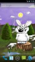 Screenshot of Bunny Live Wallpaper