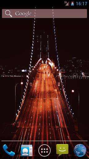 Golden Gate Bridge Live Wall