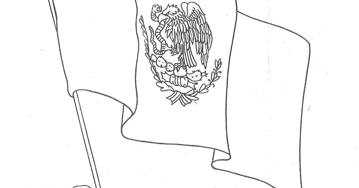 Pinto Dibujos: Día De La Bandera De México