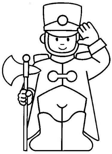 guard coloring pages - photo #21