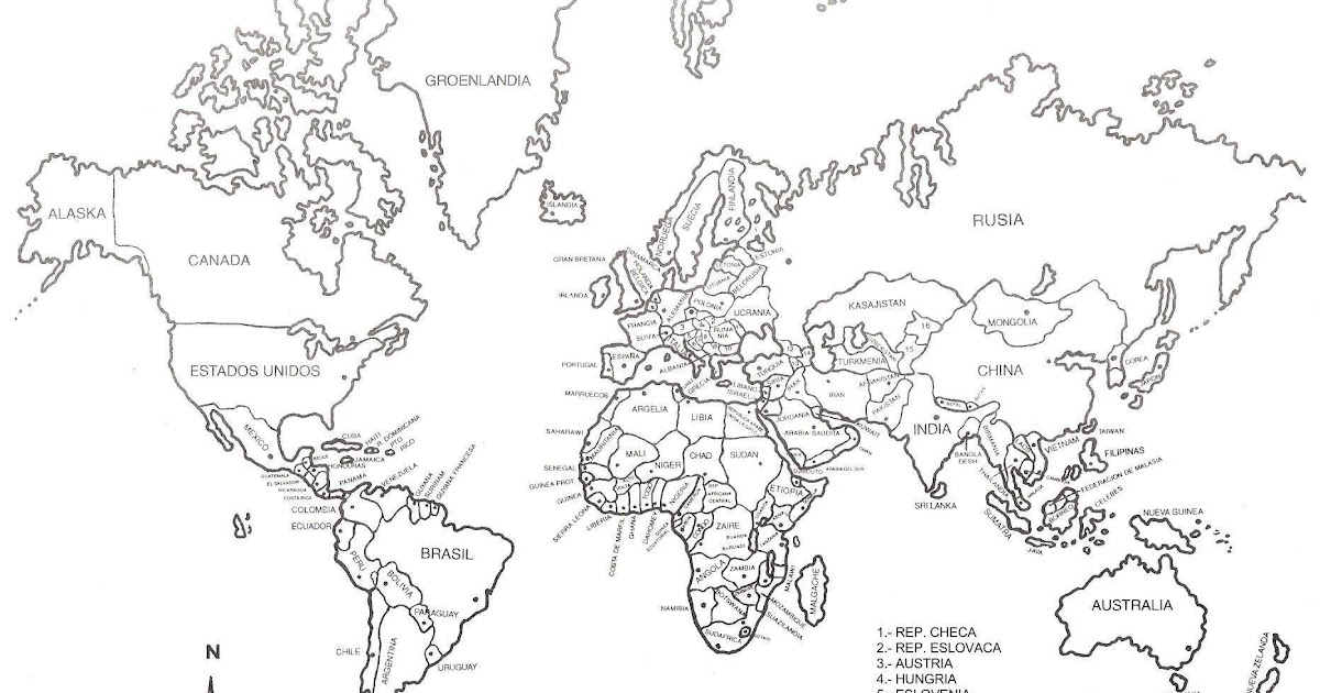 Planisphere In Spanish Free Coloring Pages Coloring Pages