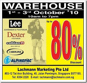 c23ef4692bc8fe Lachman Warehouse Sale. Lachmann Marketing is now having  it s warehouse  sale with Discount ...