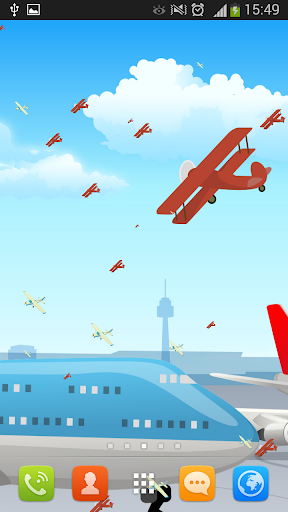 飞机动态壁纸