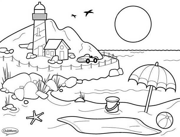 Dibujos De Pasajes Para Colorear