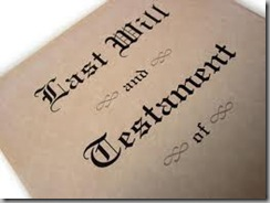 Will - last will and testament