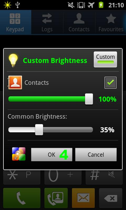 aBacklighter LITE - screenshot