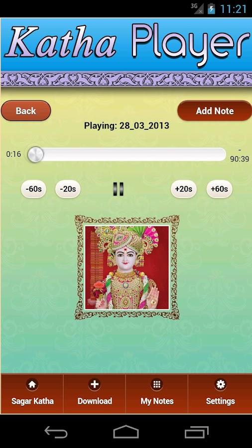 Swaminarayan Daily Sagar Katha - screenshot