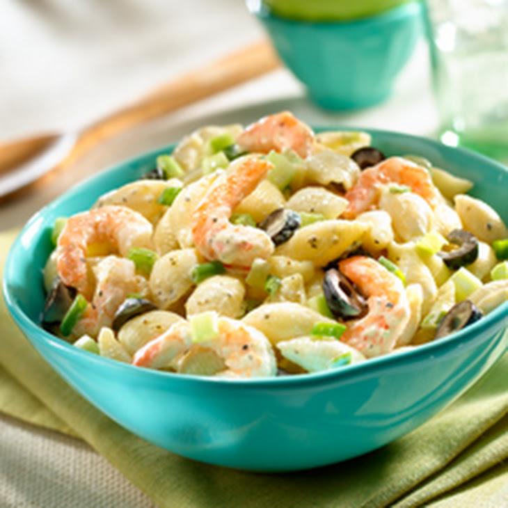 Final Lap Macaroni Salad with Shrimp Recipe