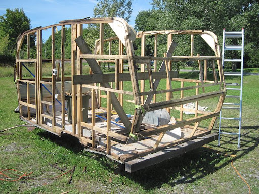 Brilliant My Travel Trailer Restoration Raise The Roof Download Free Architecture Designs Estepponolmadebymaigaardcom