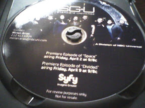 Stargate Unvierse press DVD