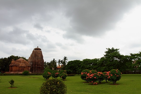 Amazing Temple Site of Rajarani Temple at Bhubaneshwar, Orissa