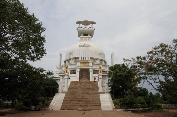 Peace Pagoda at Dhauli Hill