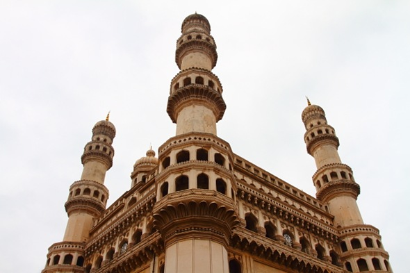The 4 minars of Charminar