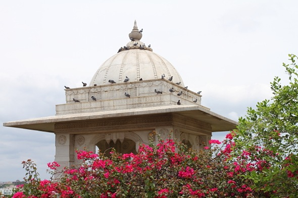 Entrance of Birla Mandir, Hyderabad, India