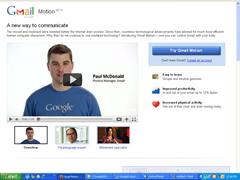 Google gmail Motion Prank