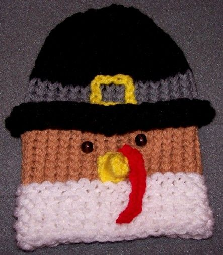 From turkey to snowman. Michelle s Frosty Snowman Hat e58e58ad8bc