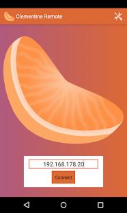 Clementine Remote– Vignette de la capture d'écran