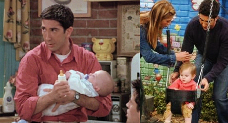 Friends: Ross, Emma, Ben, Rachel