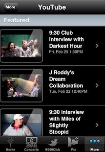 9:30 Club - screenshot thumbnail