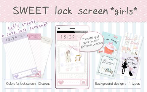SWEET Lock Screen *girls*