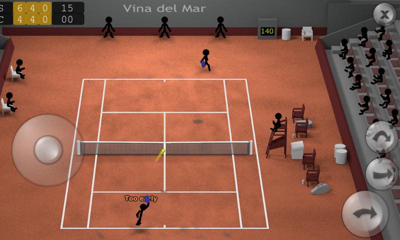 Stickman Tennis screenshot #6