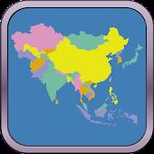 Asia Map Puzzle