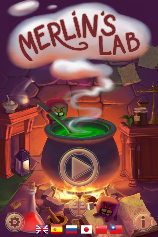 Merlin`s Lab- screenshot