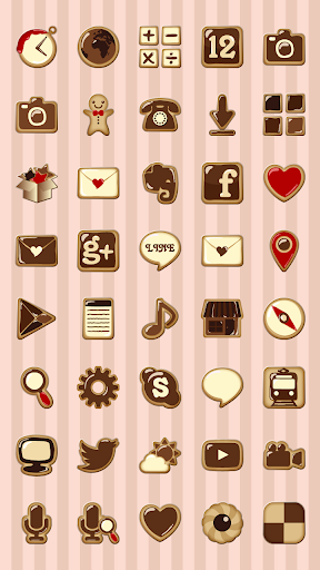 【免費個人化App】Chocolate Cute Icon-APP點子