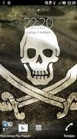 Screenshot of Pirate Flag Live Wallpaper