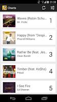 Screenshot of Music Charts