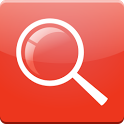 Red Search for Google™ icon