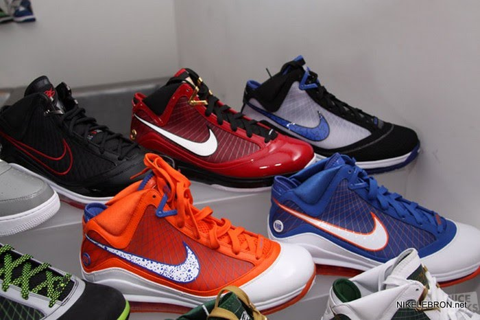 b154559000123 ... MVPs Join Unreleased Pack 8211 What it Could Have Been LeBron VIIs ...