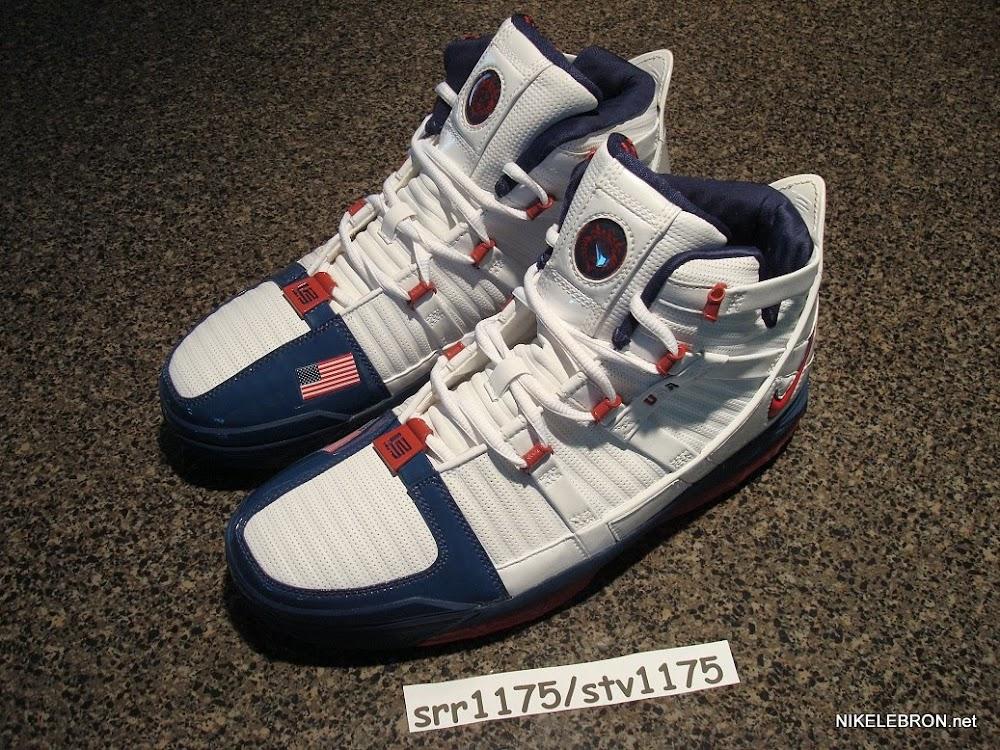f3fd7774fd1f ... Throwback Thursday Nike Zoom LeBron III USA Basketball PE