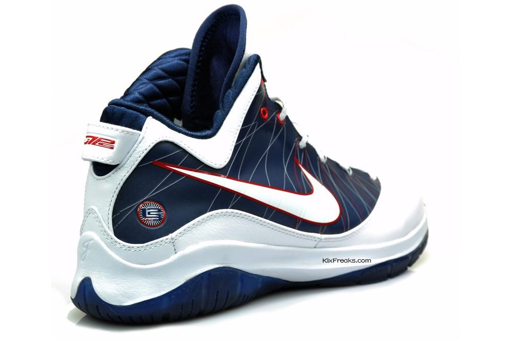 37833c5ed94 Nike LeBron 7 PS wZoom Air 8211 Actual Photos 8211 WhiteNavy ...