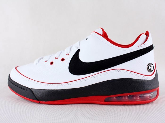 64f614d3b53 Nike LeBron VII Low WhiteBlackRed General Release Version ...