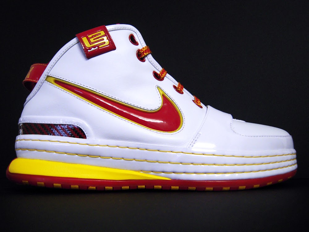 ... Throwback Thursday Nike Zoom LeBron VI 6 Fairfax Home PE ... 677ebdd8f